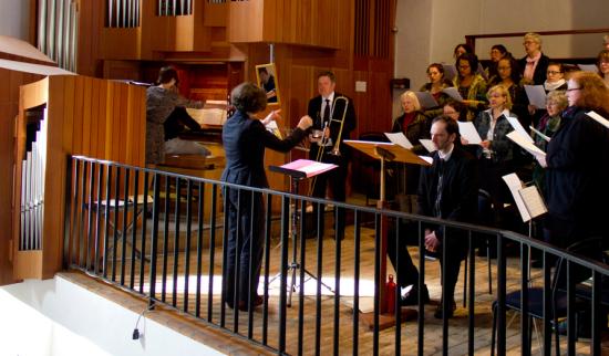 Dialog: Urauffühungen im Gottesdienst - Laurentius
