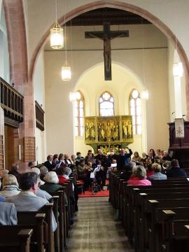 Dialog: Urauffühungen im Gottesdienst - Könnern