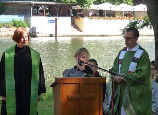 Fotos Saaleufer-Gottesdienst