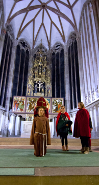 Probe Martinstag Moritzkirche
