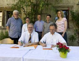 Unterzeichnung Lebenswende Kooperationsvereinbarung
