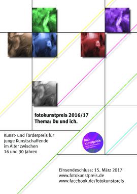 Plakat Fotokunstpreis 2016/17