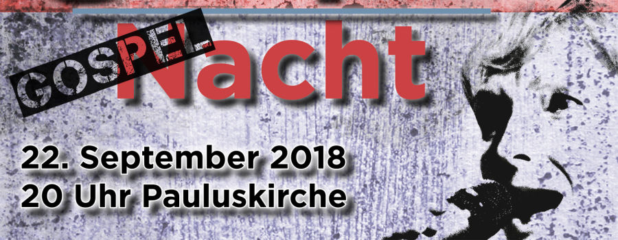 Slideshow Gospelnacht 2018