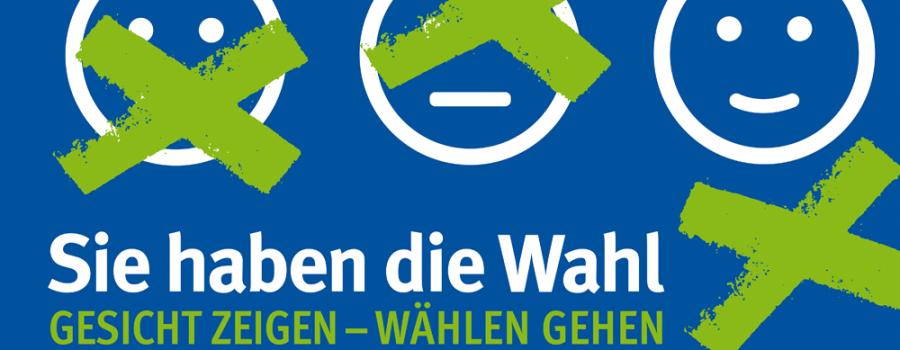 Banner Wahlaufruf
