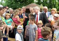 Besuch KITA St. Georgen Gauck