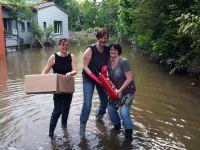 Hilfe nach Hochwasser