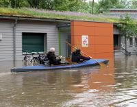 Hochwasser in Halle
