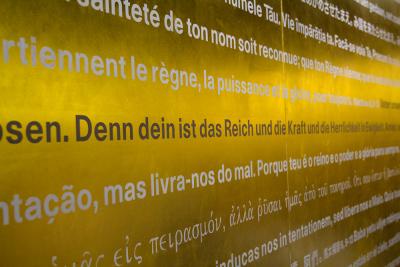 Vaterunser-Wall