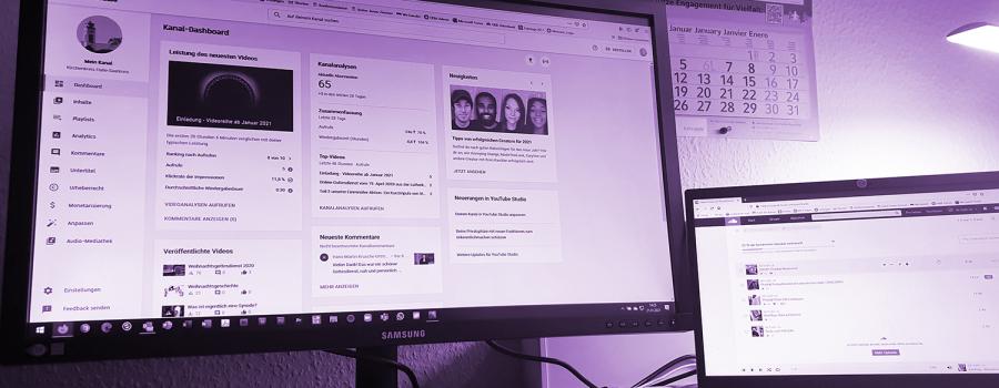 Infobanner Onlineangebote