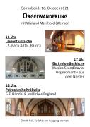 Orgelwanderung Kooperation Nord 2021