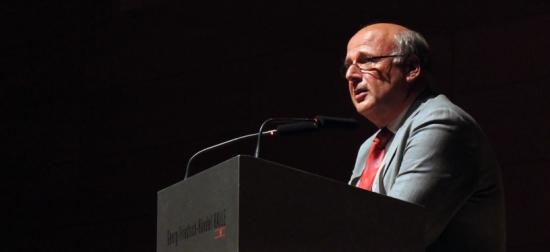 GKR Empfang 2013 - Dekan Vogel (Karlsruhe)