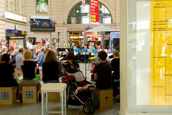 Bahnhofsgottesdienst 2014