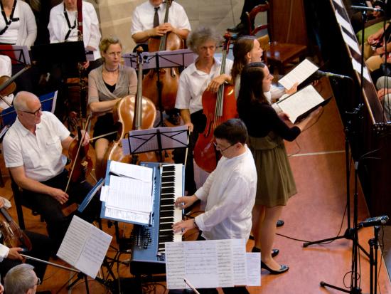 Jazzmesse in D - Uraufführung in Paulus