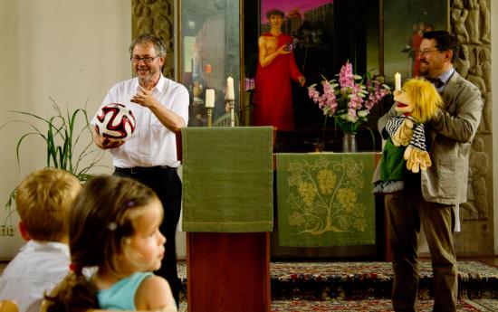 Neueröffnung der Christus-KITA