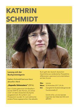 Plakat Schmidt
