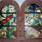 Expressionistisches Fenster