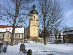 Fienstedt Kirche St. Stephanus im Winter
